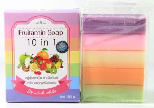 Fruitamin Soap 10 in White by Wink White