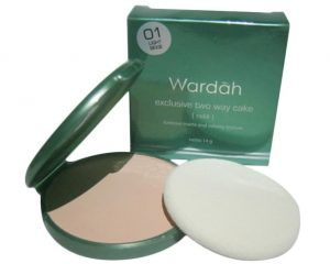 Wardah Exclusive Two Way Cake Light Beige 01
