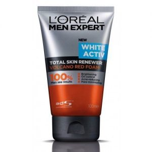 L'Oreal Paris Men Expert White Active Volcano Red Foam
