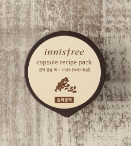 Innisfree Capsule Recipe Pack Rice