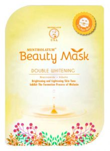 Rohto Mentolatum Beauty Mask Double Whitening