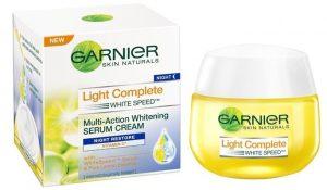 Light Complete White Speed Multi-Action Whitening Serum Cream Night Restore