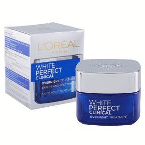 White Perfect Clinical Overnight Treatment Cream