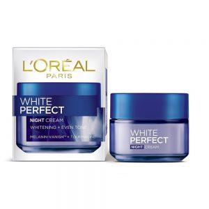 loreal white perfect night