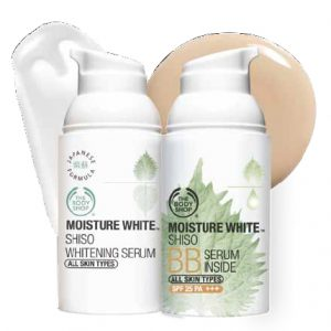 The Body Shop Moisture White Shiso BB Serum Inside