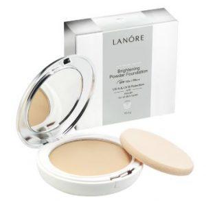 lanore brightening powder foundation