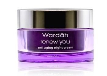 8 Produk Kosmetik Wardah untuk Usia 40 Agar Wajah Putih